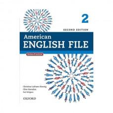 American English File 2nd 2 SB+WB+2CD+DVD