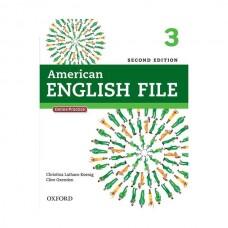 American English File 2nd 3 SB+WB+2CD+DVD