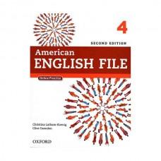 American English File 2nd 4 SB+WB+2CD+DVD