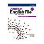 American English File 3rd Starter SB+WB+DVD - Glossy Papers