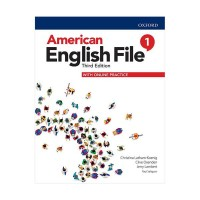 American English File 3rd 1 SB+WB+DVD - Glossy Papers