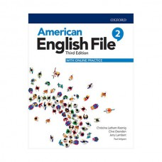 American English File 3rd 2 SB+WB+DVD - Glossy Papers